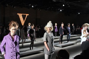 The Vaute Couture show during Mercedes-Benz Fashion Week. Photo by Joshua Katcher